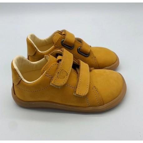 Gyerek barefoot cipő Baby Bare Febo Spring - mustár