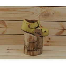 Gyerek barefoot szandál Pegres B1096 - sárga