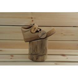 Gyerek barefoot cipő Pegres B1100 - bézs