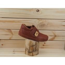 Gyerek barefoot cipő Pegres B1407 - barna