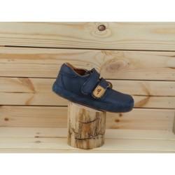 Gyerek barefoot cipő Pegres B1407 - sötétkék
