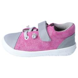 Gyerek barefoot cipő Jonap B12 - rózsaszín