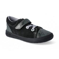 Gyerek barefoot cipő Jonap B12 - fekete