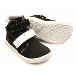 Gyerek barefoot cipő Jonap B2/SV - fekete