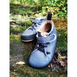 Gyerek barefoot cipő Pegres BF32 - kék