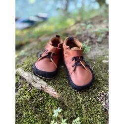 Gyerek barefoot cipő Pegres BF32 - barna