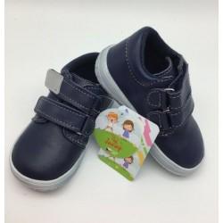 Gyerek barefoot cipő Jonap B1/MV - kék