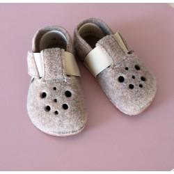 Gyerek barefoot papucs Pegres BF04 - barna