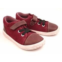 Gyerek barefoot cipő Jonap B2/SV - bordó