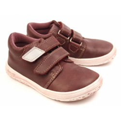 Gyerek barefoot cipő Jonap B1/MV - bordó