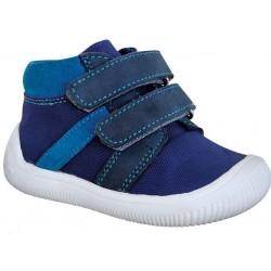 Gyerek barefoot cipő Protetika Step - kék