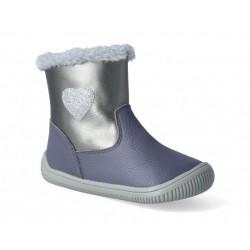 Gyerek téli barefoot cipő Protetika Lory