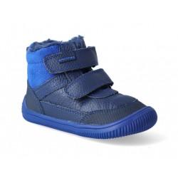 Gyerek téli barefoot cipő Protetika Tyrel Blue