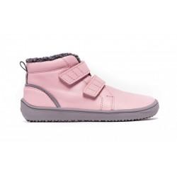 Gyerek téli barefoot cipő Be Lenka Penguin - Pink