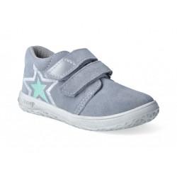 Detské barefoot topánky Jonap B1sv - šedá/hviezda